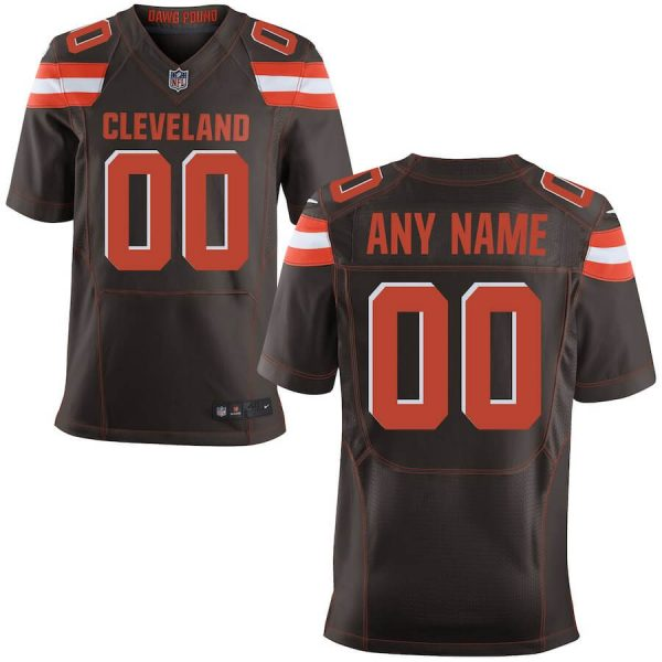 Men's Cleveland Browns Custom Elite Jersey