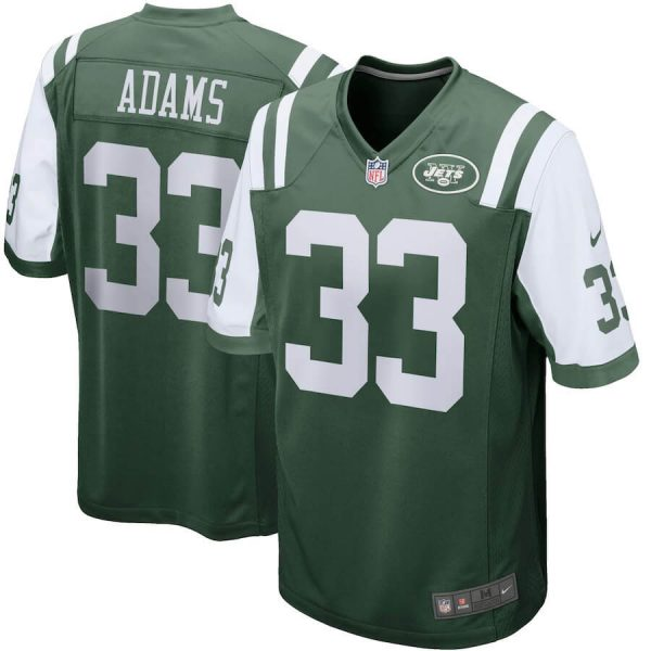 Men's New York Jets Custom Game Jersey