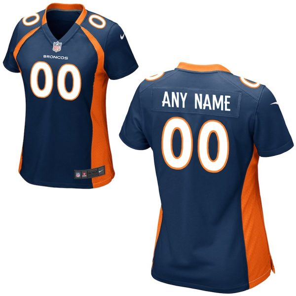 Women's Denver Broncos Custom Game Jersey