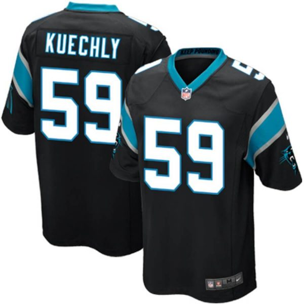 Youth Carolina Panthers Custom Game Jersey